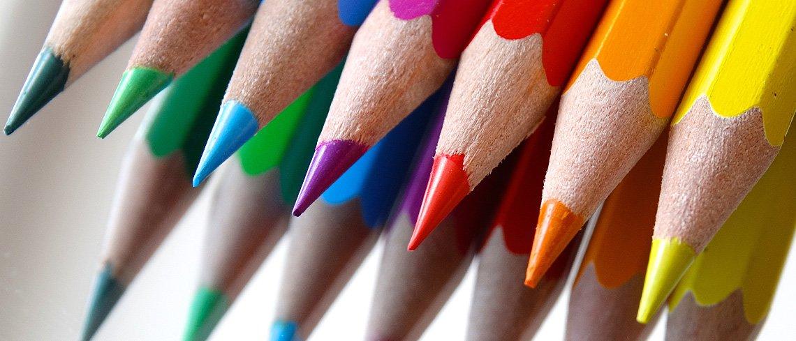 A velünk élő színek - térrendezés
